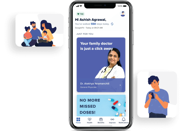 AI-Driven and Personalized Health Experience for Employees, Health Benefits for Family Members, Personalized Experience for Employees